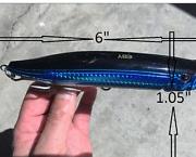 "6 /"" TROLLING LURE BAIT TACKLE FISHING KING MACKEREL TUNA MAHI JACK STRIPED BASS"
